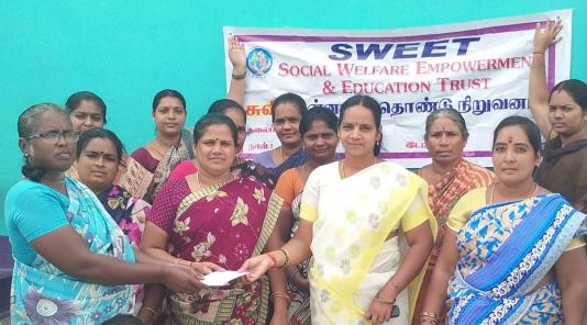 Women from SWEET in Tamil Nadu, India