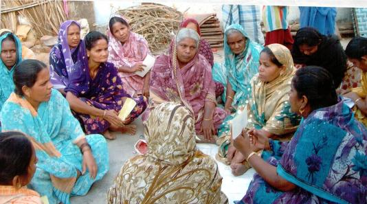 Self-help group in India