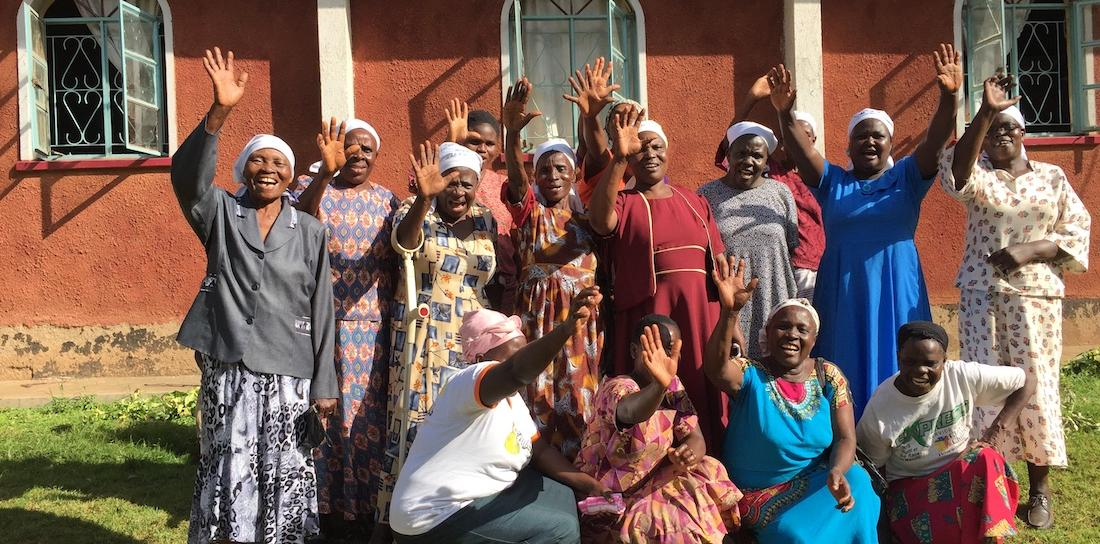The women of Vushitsuyla Friends Women Group in Kenya